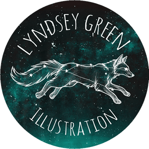 Lyndsey Green Illustration logo